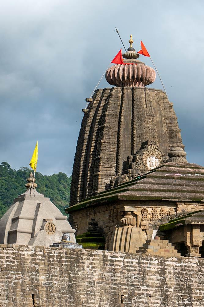 Temple de Baijnath Jyotir Linga Shiva
