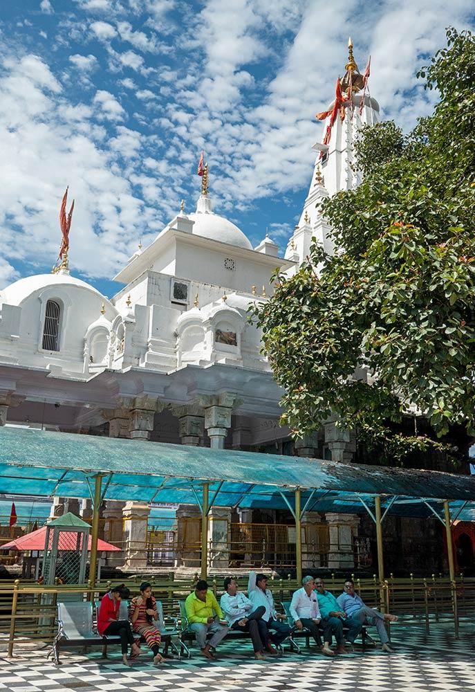 Temple de Brajeshwari Devi Shakti Peetha, Kangra