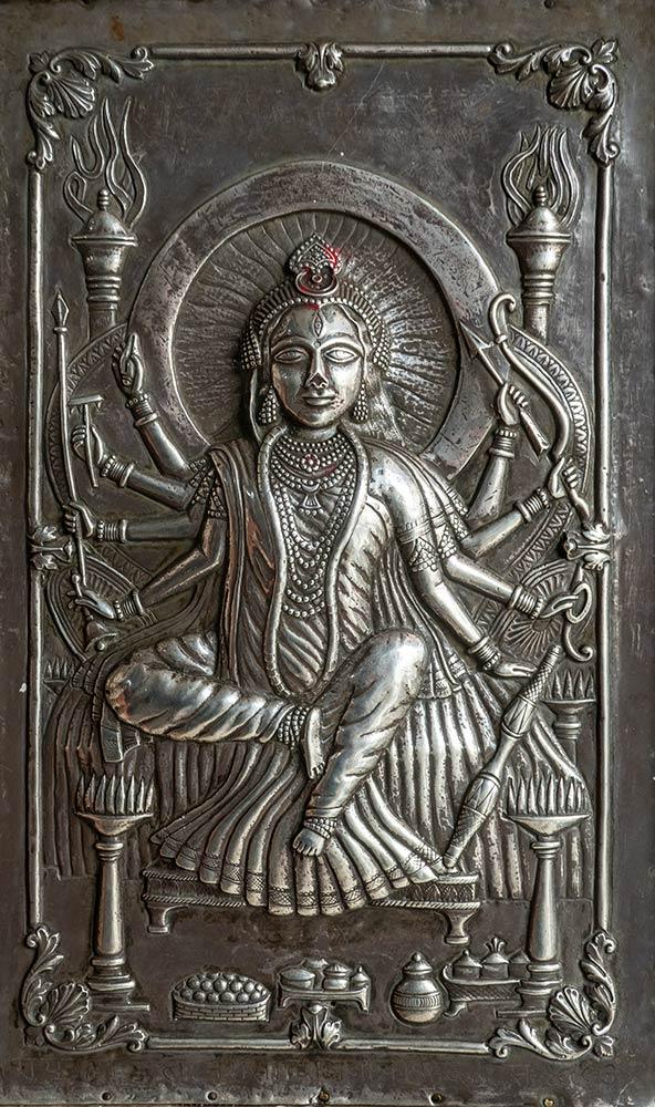 Temple de Brajeshwari Devi, Kangra