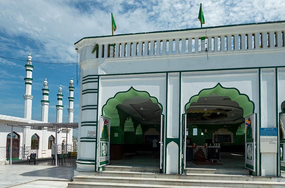 Sanctuaire de Baba Budhan Ali Shah, près de l'aéroport de la ville de Jammu