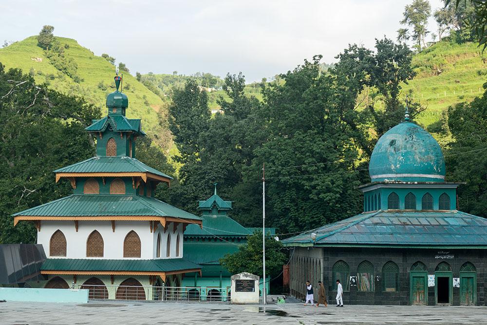 Schrein und Moschee von Shahdara Sharif, Thanna Mandi, Rajouri
