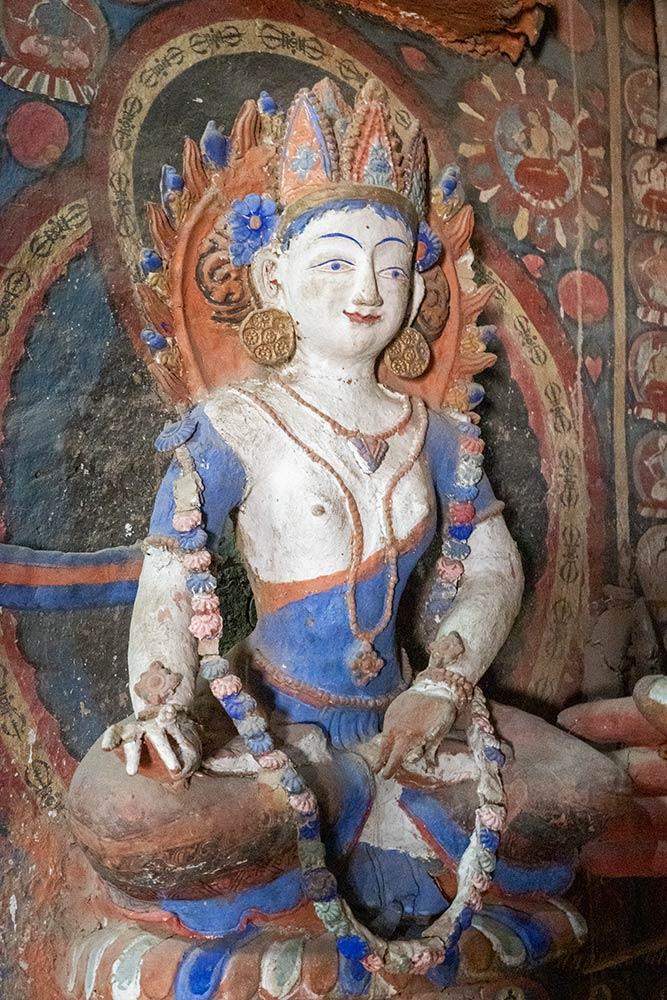 Statue von Lady Manjushri, Alchi Gompa