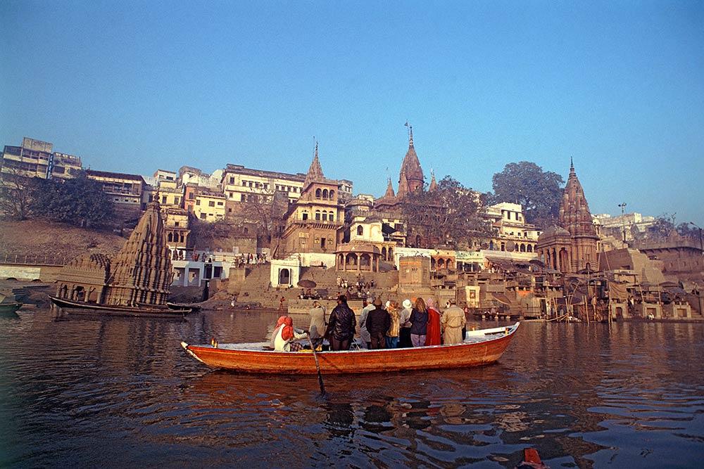 Паломники на реке Ганг, Банары