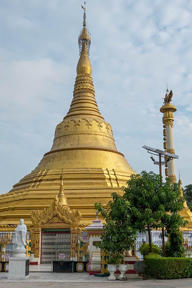 Мьянма Ступа, Кушинагар