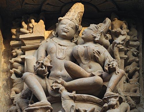 Khajuraho-Skulptur