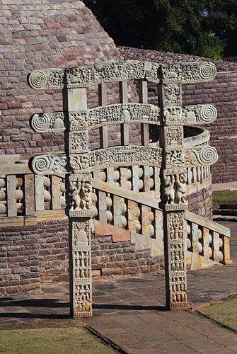 Zweiter Stupa, Sanchi