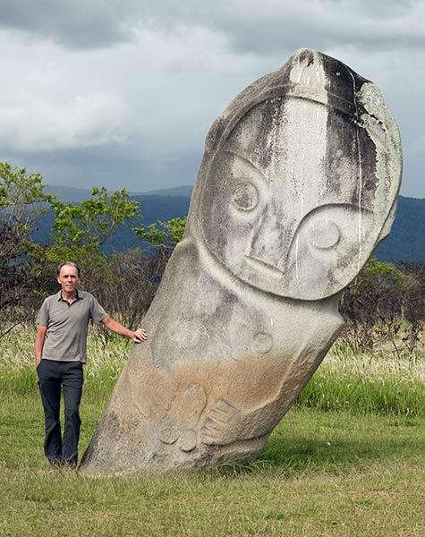 Palindo-Statue, Bada Valley, Sulawesi-Insel, Indonesien