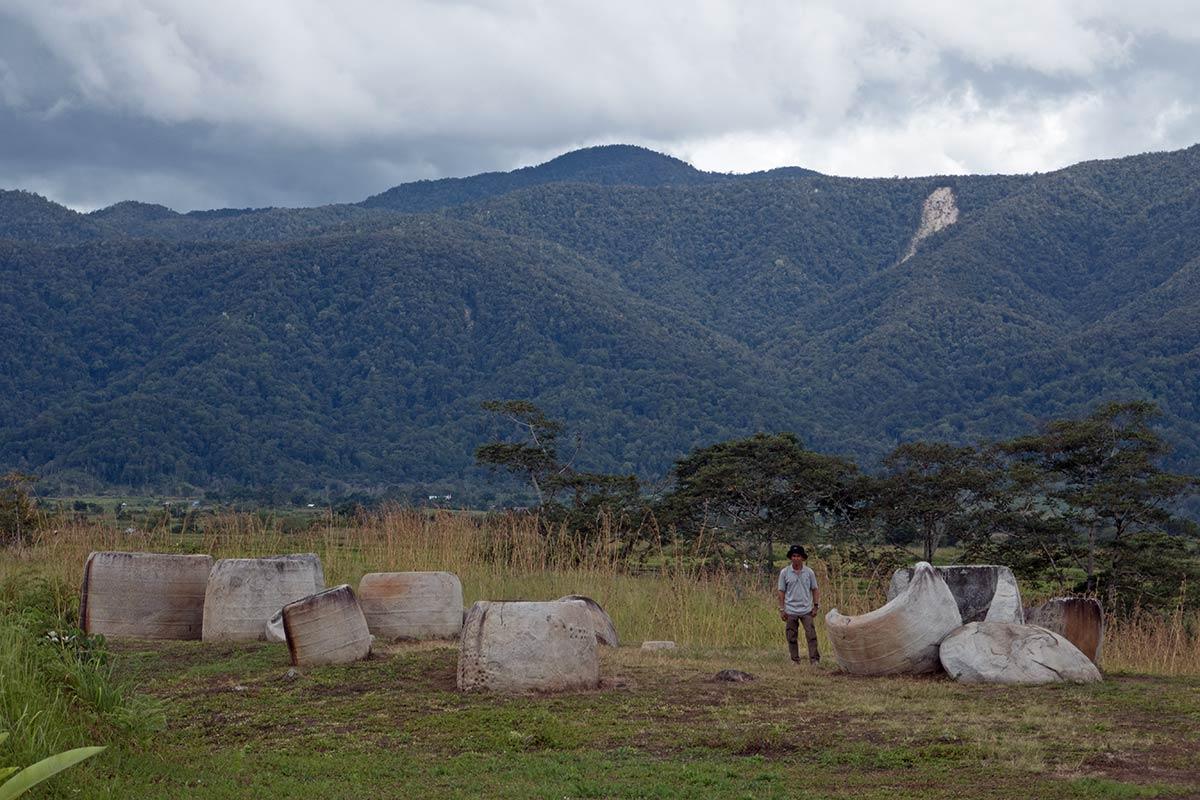एकाधिक कलंबा, हैंगिरा गांव के पास पोकेया साइट, बेसोआ घाटी