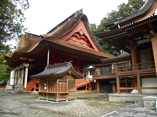 Haguro San, temple de Sanjin Gosaiden