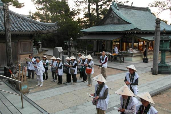 शिकोकू कोंगोफुकुजी मंदिर 19