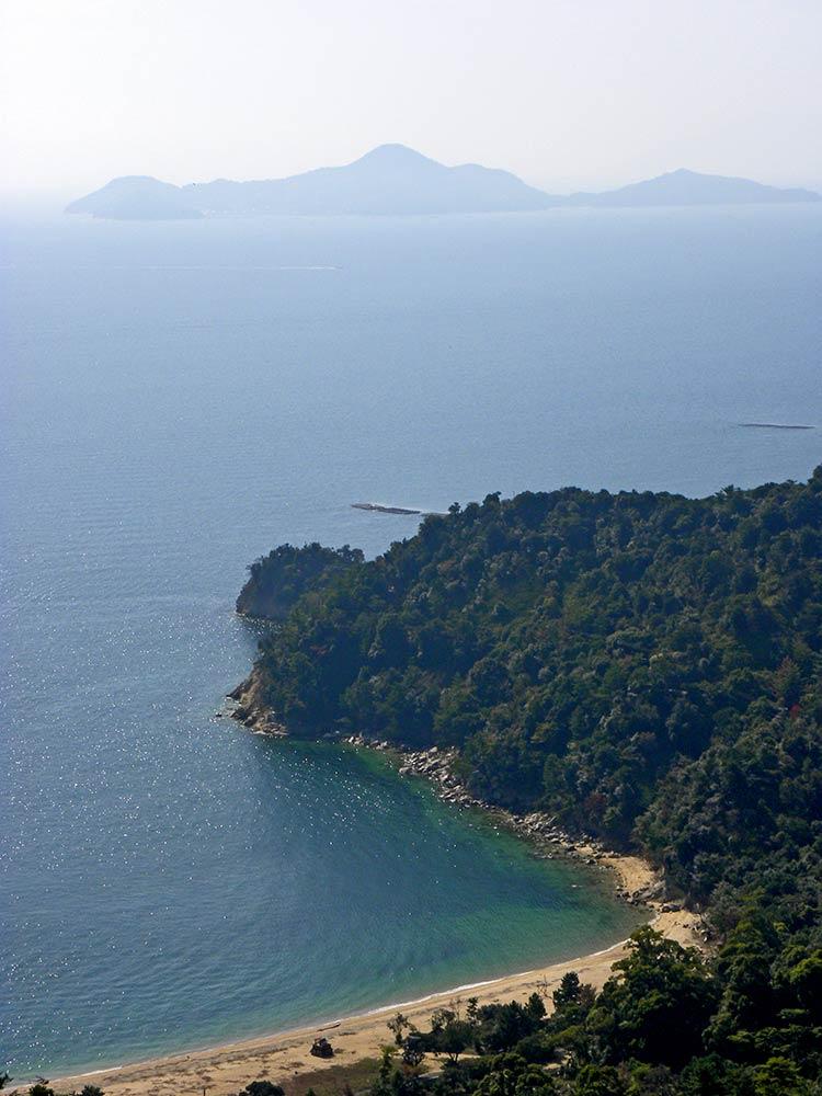 Plage de Miyajima, île de Miyajima