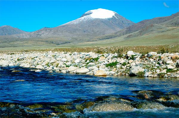 Mt. Otgontenger, Mongolei