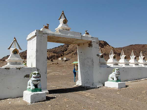 Buddhistisches Kloster Ulgil Hiid an der schamanischen Stätte