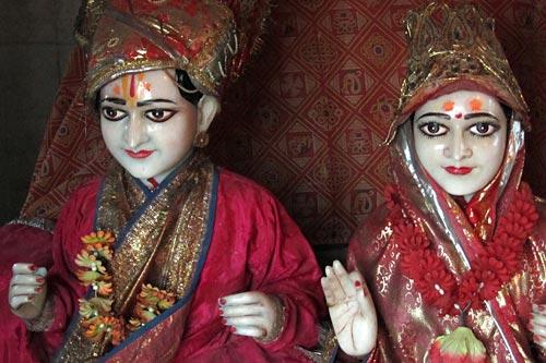 जनकपुरी-राम-सीता-प्रतिमा -2