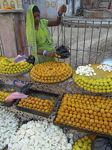 Janakpuri-Süßigkeiten-Verkäufer