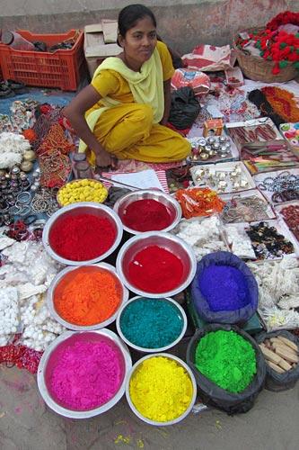 Janakpuri-Tilak-Verkäufer