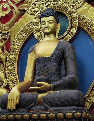 Namo Buddha Statue de Bouddha