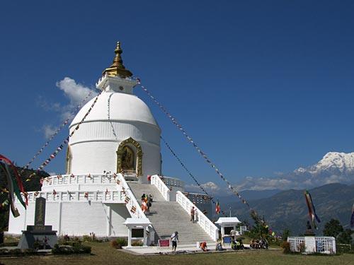 Pokhara-Friedenspagode