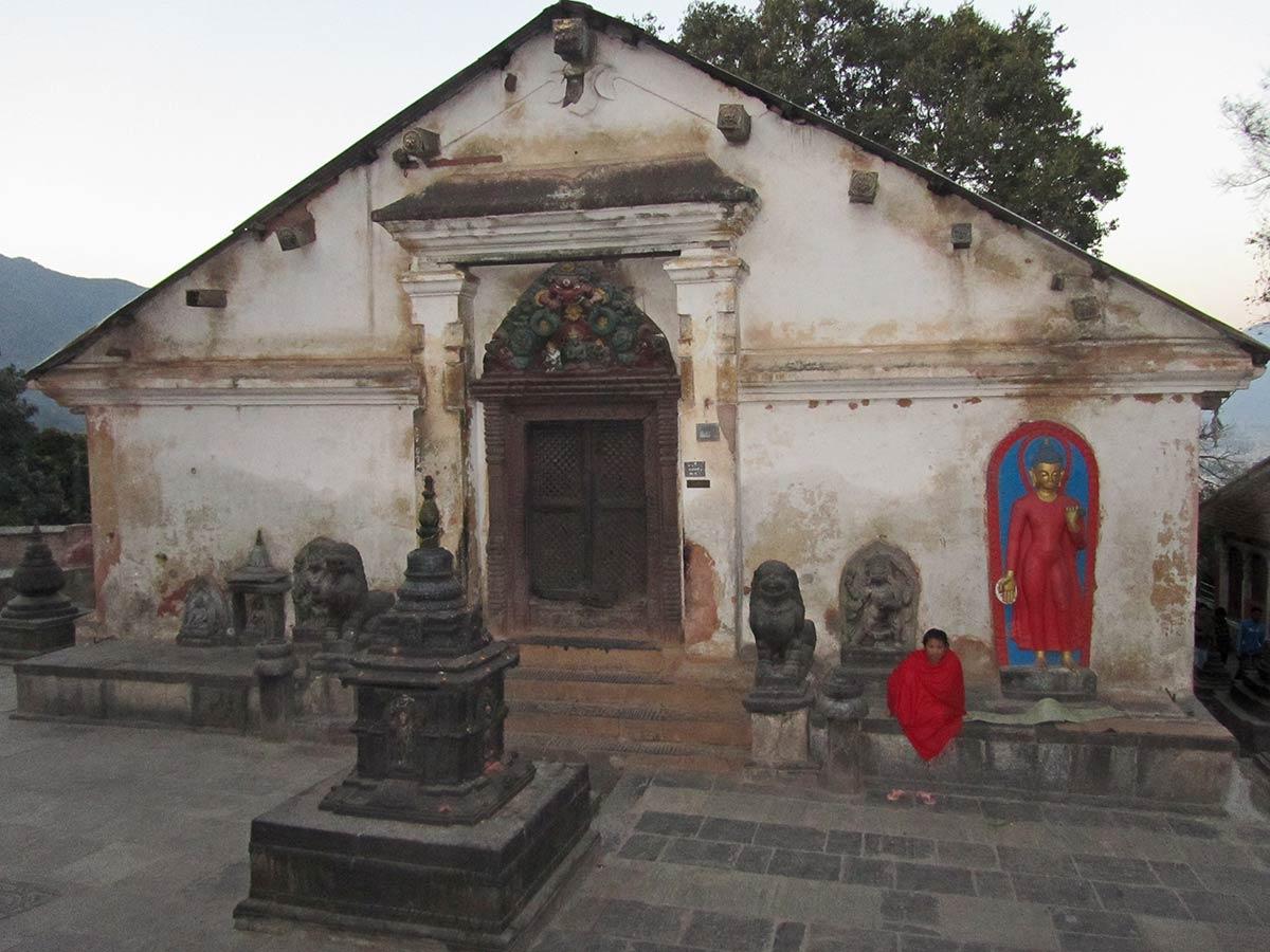 Shantipur Sanctuaire de Swayambhunath Stupa
