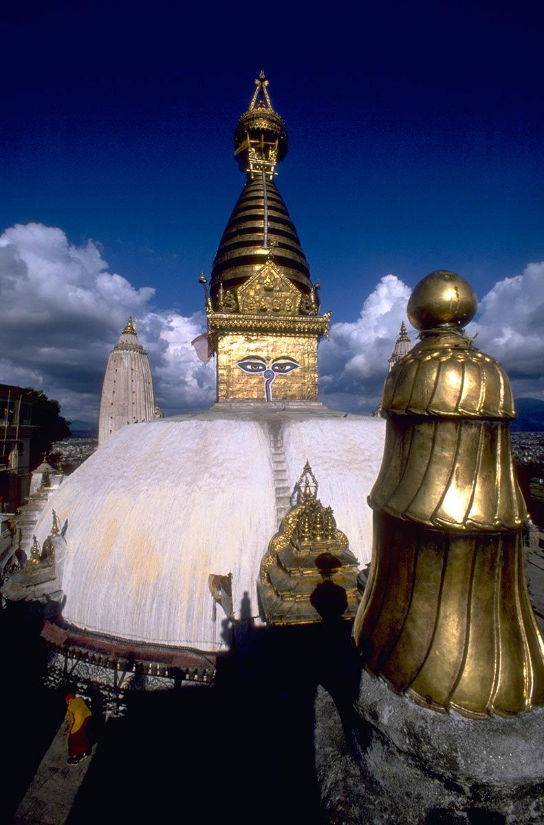 Stupa de Swayambhunath, Katmandou, Népal