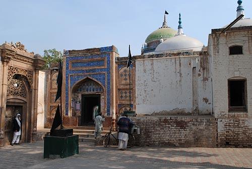 Мавзолей Шах Шамс Тебриз, Мултан