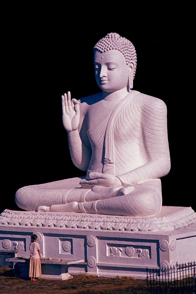 Statue de Bouddha Mihintale