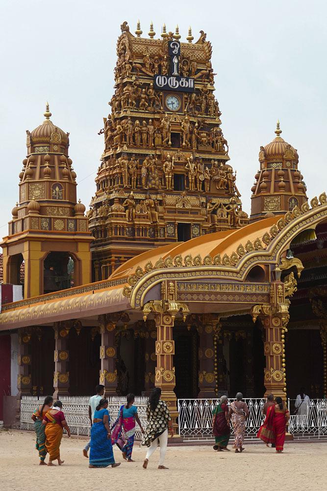 Nallur Kanthaswamy Tempel, Jaffra