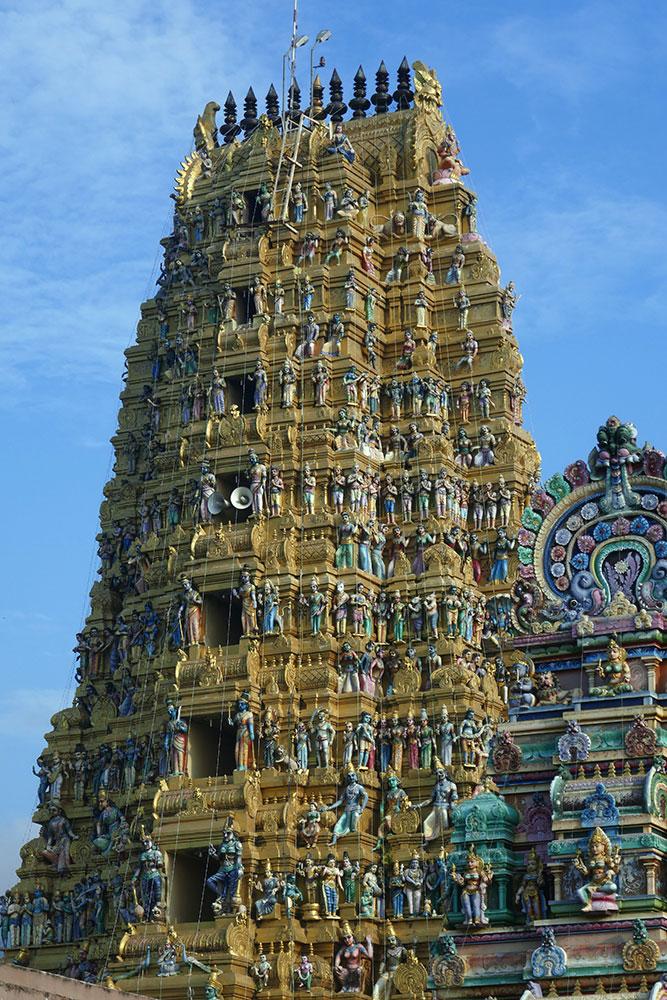 Sri Muthumariamman Thevasthanam Gopuram