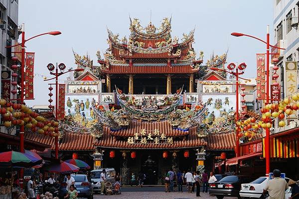 Храм Чао Тянь, Пей Кан