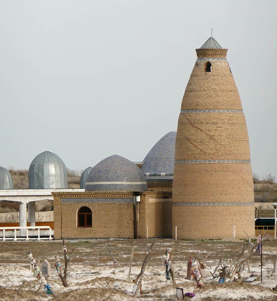 Ak Ishan, in der Nähe von Archman