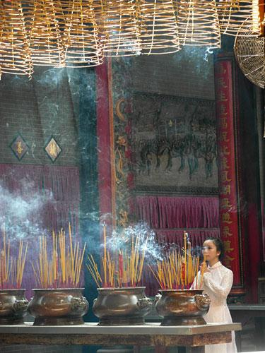 Пагода Чуа Ба Тхиен Хау, Сайгон (Хошимин)