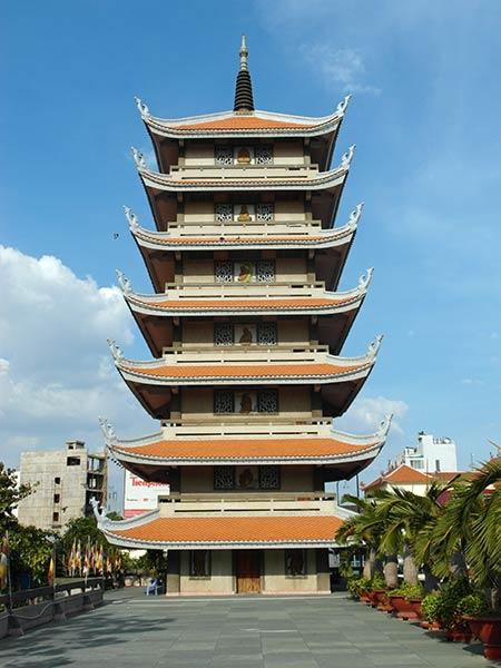 Temple de Vinh Ngheim, Saigon, Vietnam