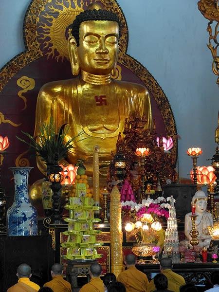 Vinh Ngheim Tempel, Saigon, Vietnam