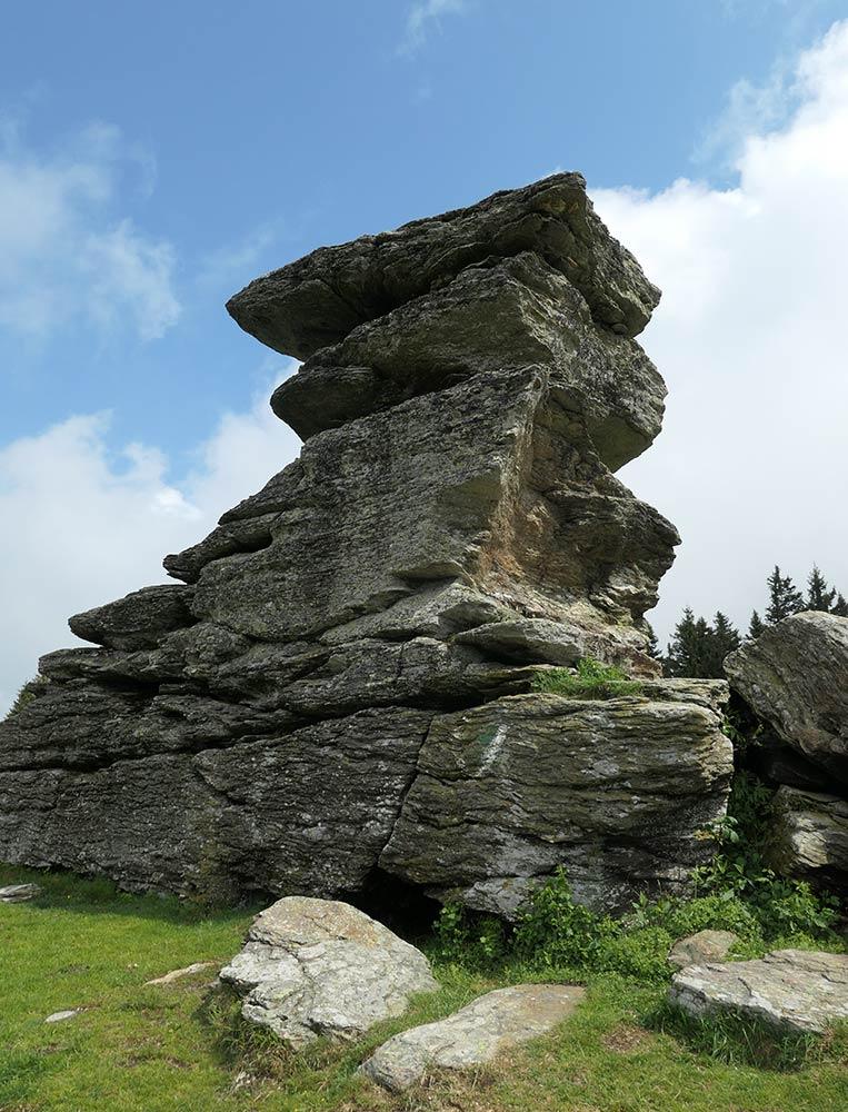 Teufelstein चट्टानों
