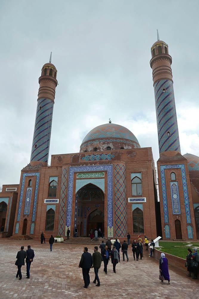 Ganja, mausolée d'Imamzadeh