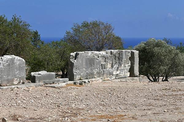 Templo del lugar de nacimiento de Afrodita Palaepafos.