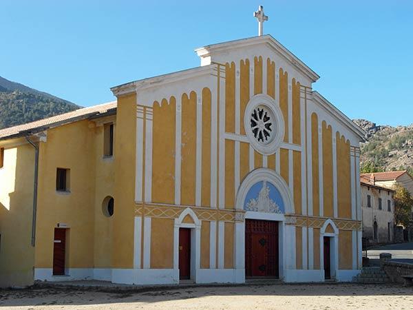 Église de Santa di U Niolu, Casamaccioli, Corse