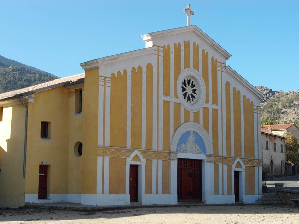 Chiesa di Casamaccioli, in Corsica