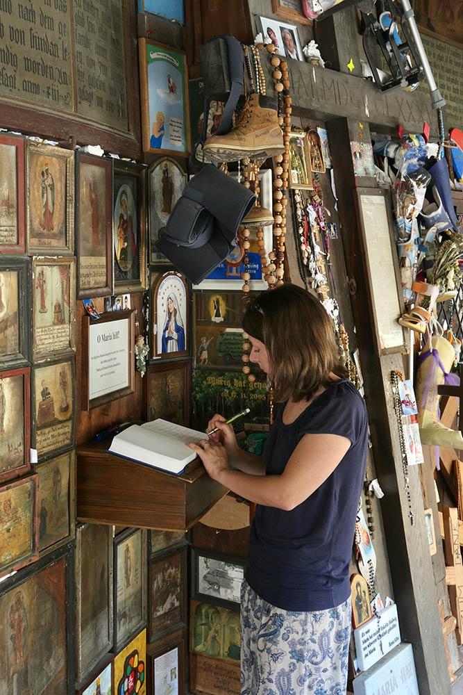 Pellegrino al Santuario di Nostra Signora di Altötting, Altötting