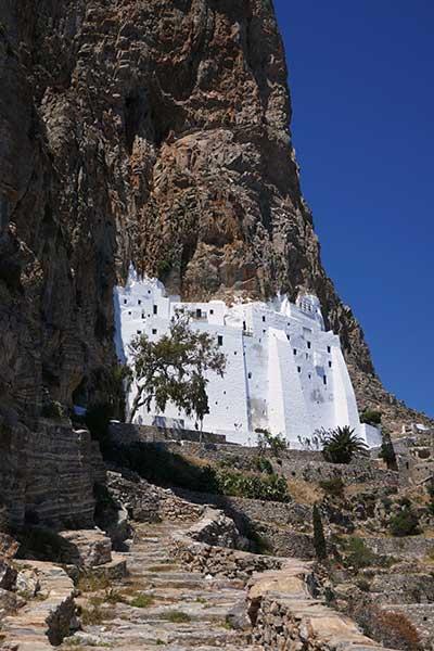 Monasterio de Hozoviótissa, isla de Amorgos