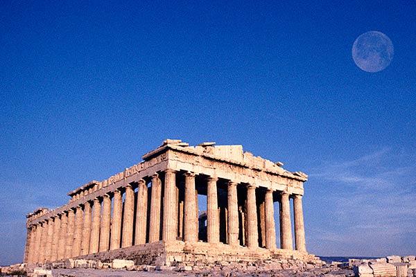 Partenone, l'Acropoli, Atene, Grecia