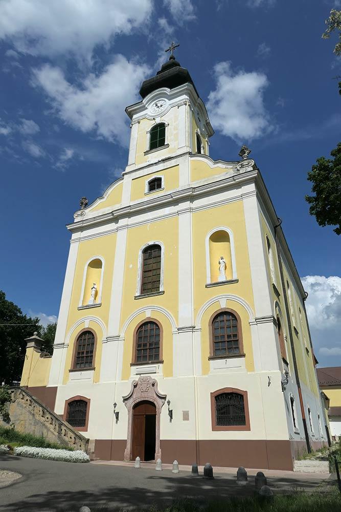 Mariabesnyo, Basilika von Mariabesnyo