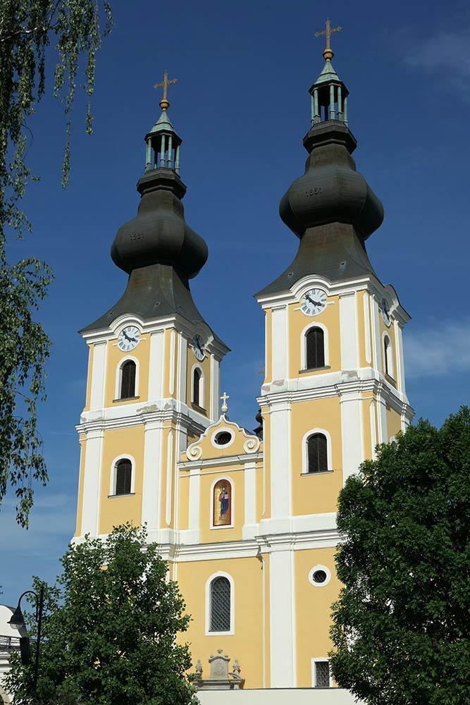 Mariapocs, Basilika unserer lieben Frau von Mariapocs