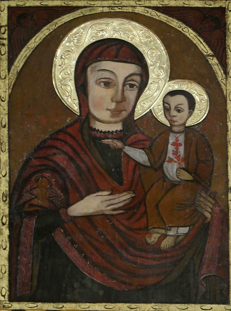 Mariapocs, Basilika unserer lieben Frau von Mariapocs, Ikone der Maria mit dem Jesuskind