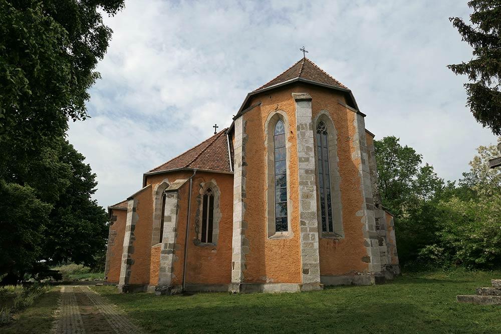 Matraverebely, Basilika unserer Dame der großen Glückseligkeit