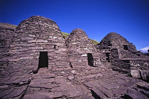 Les huttes de pierre de l'ermite, Skellig Michael