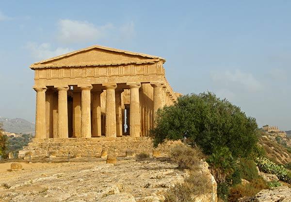 sicilia agrigento templo de concordia