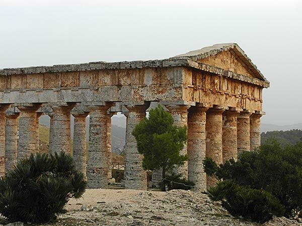 sicilia segesta templo dórico