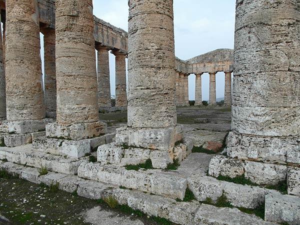 Sizilien segesta doric Tempel 5