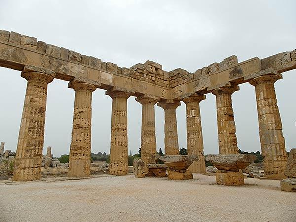 sicilia selinunte templo de hera